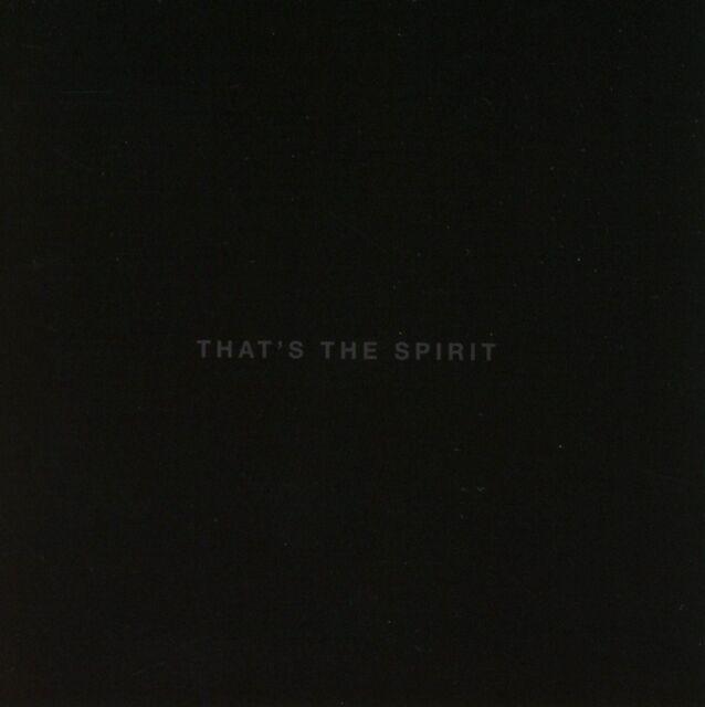 BRING ME THE HORIZON - THAT'S THE SPIRIT   CD NEU