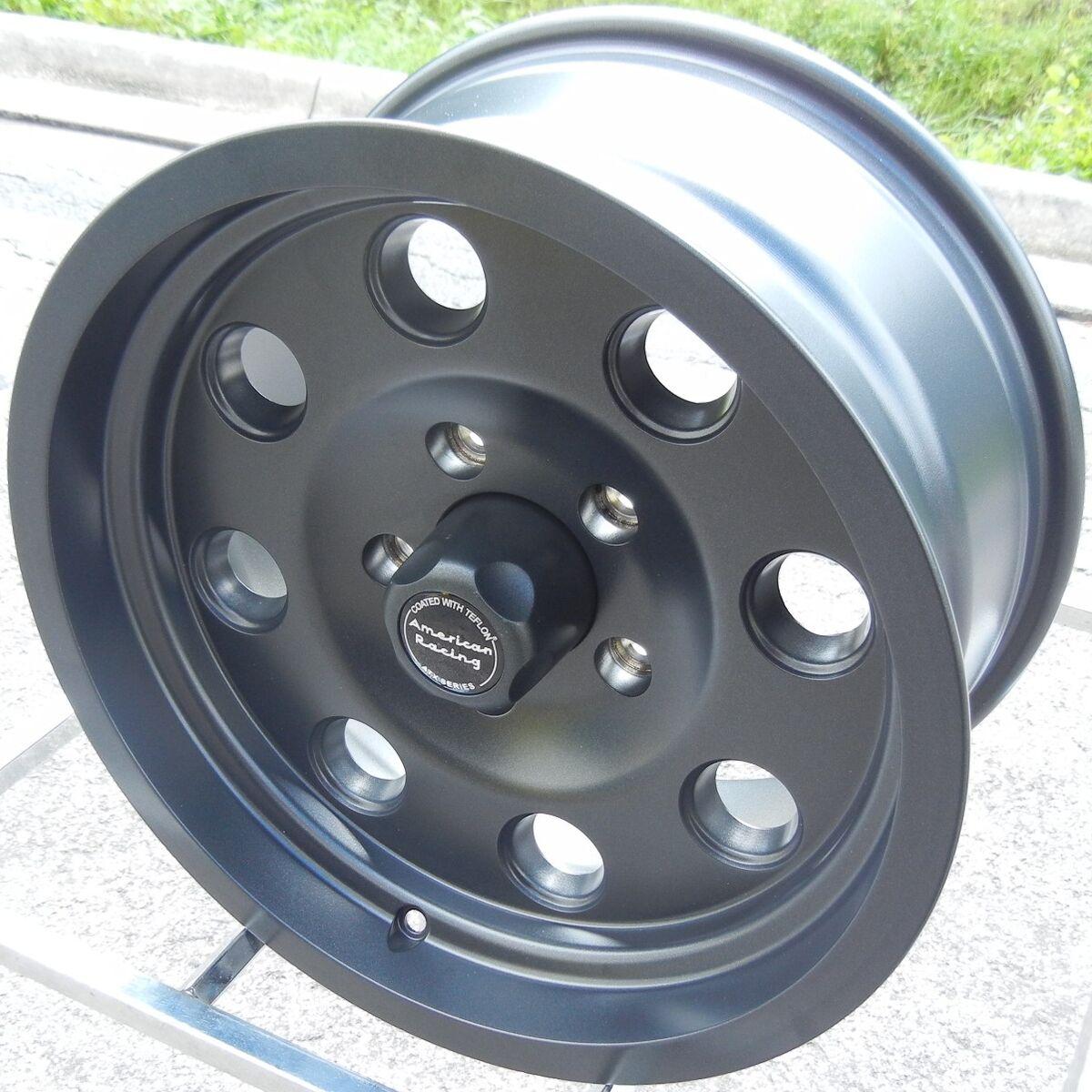 "New Set of 4 16x8"" Teflon Coated ATX Mojave Wheels Rims Ford F250 F350 Excursion"