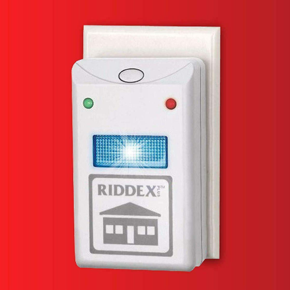 Riddex Plus Pest Repelling Aid, with built-in Night Light