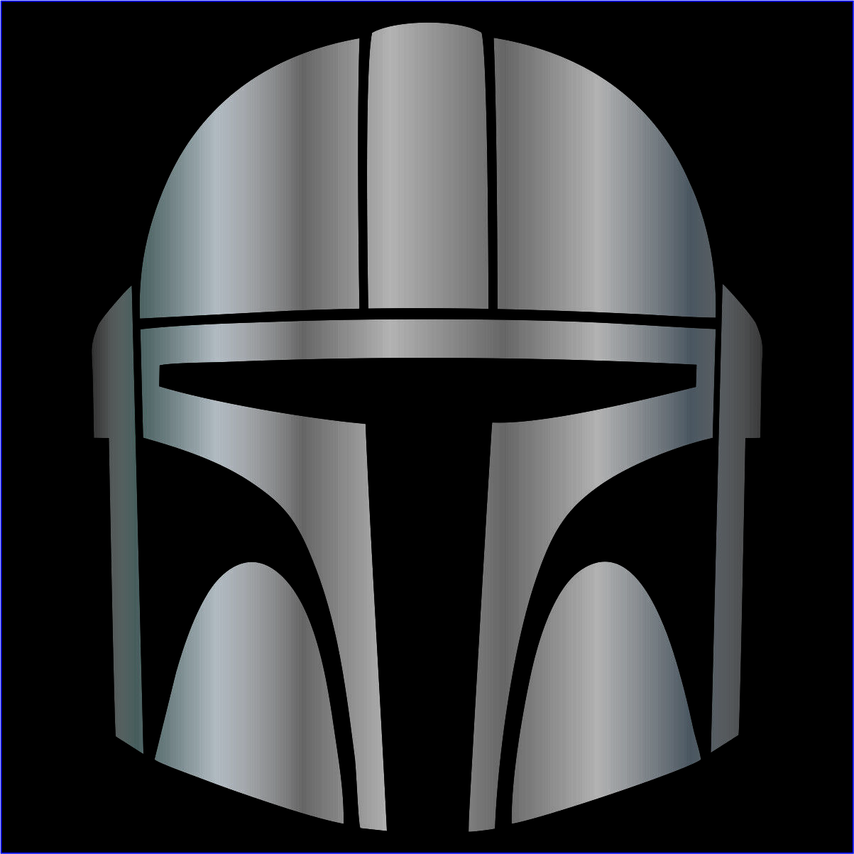 Home Decoration - The Mandalorian Decal / Sticker - Choose Color & Size - Star Wars, Baby Yoda