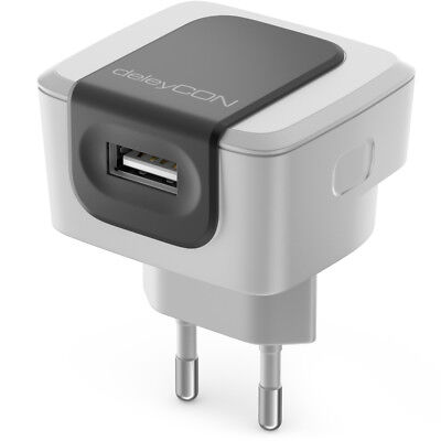 1 Port USB Ladegerät Ladeadapter 2,4A USB Strom Netzteil Handy Smartphone Tablet Handy-adapter