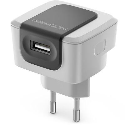 1 Port USB Ladegerät Ladeadapter 2,4A USB Strom Netzteil Handy Smartphone Tablet
