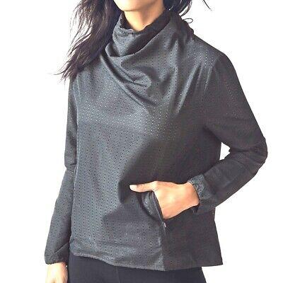 New Fabletics Pullover Top Jacket  Liora Gray Plus Women XXL 2X