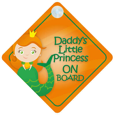 Little Princess On Board Car Sign New Baby//Child Gift//Present
