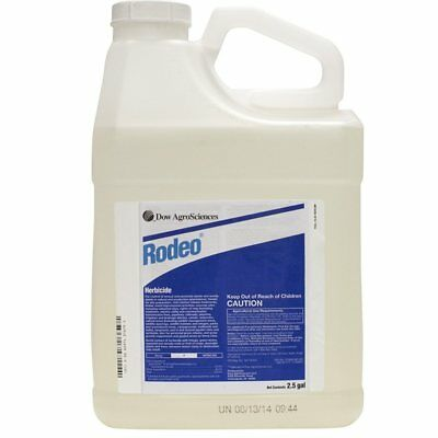 Rodeo Aquatic Herbicide Glyphosate - 2.5 Gallons (Dow AgroScience)