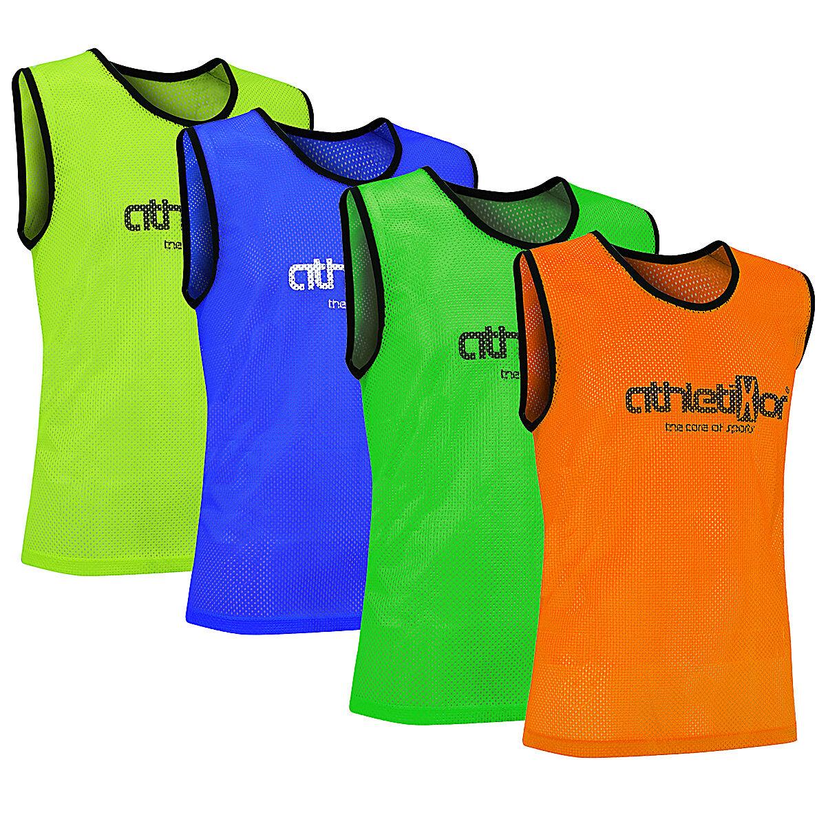 Fussballleibchen_Trainingsleibchen_Markierungshemd_Leibchen verschiedene Farben