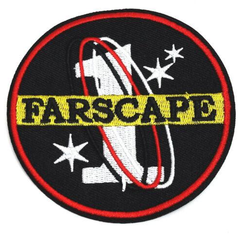 "Farscape TV Series Farscape 1 Logo Embroidered 3.5""  Patch- USA Mailed(FSPA-001)"