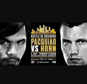 Pacquiao v Horn Penrith Penrith Area Preview