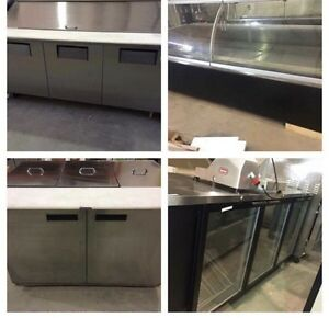 Freezers, Pizza Tables, Coolers, Ice Machines & Lots More