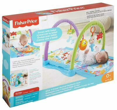 Fisher-Price Kick & Crawl Musical Gym, Seahorse for sale  Shipping to Nigeria