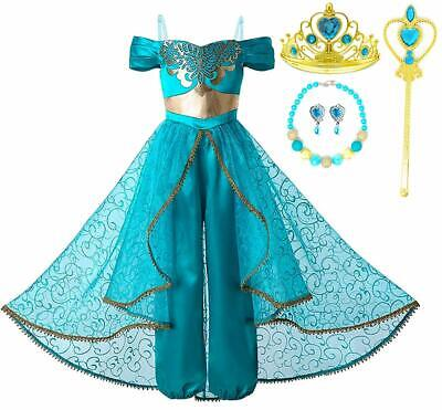 Arabian Party Dress (Romy's Collection Arabian Princess Jasmine Party Dress-Up)