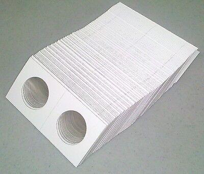 1000 2x2 Half Dollar Coin Flips Cardboard Mylar Franklin Jfk 50 Cent - Bulk