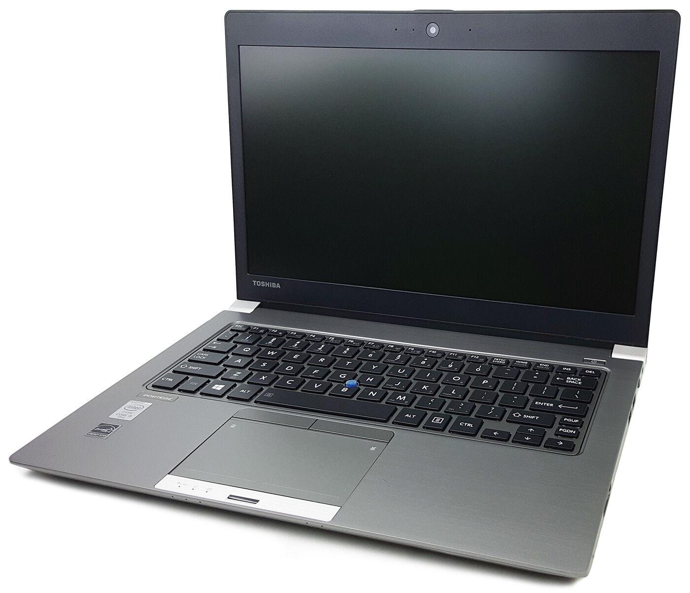 "Toshiba Portege Z30A 13.3"" HD Intel i5 4310U 4GB RAM 128GB SSD FPR BT Windows 7"