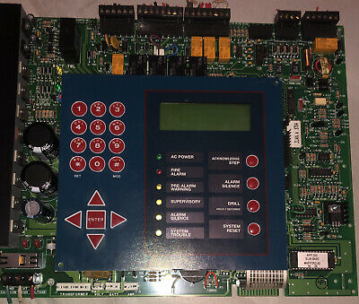 Notifier Afp-200 Fire Alarm Control Panel Replacement Board Fully Functional
