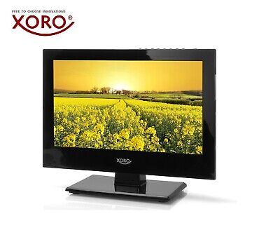 """XORO PTL 1330 13"""" Zoll DVB-T2/S2/C Tragbarer HD Fernseher, HDMI, USB, PVR Ready"""