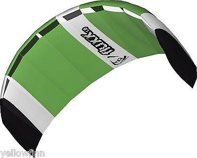 HQ FLUXX 1.8M TRAINER POWER KITE PACKAGE KITEBOARDING WITH CONTROL BAR
