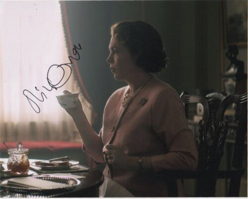 Olivia Colman The Crown Autographed Signed 8x10 Photo COA AB16