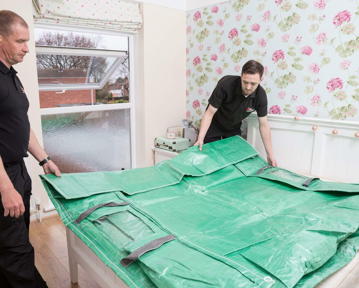 HEAVY DUTY PROTECTIVE MATTRESS BAGS + HANDLES - MOVING ...