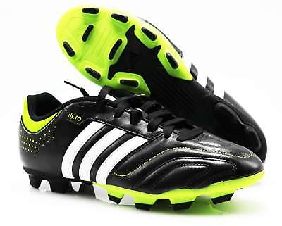Adidas Football Boots G46920 11Questra Traxion Fg Leather Sw Lime (35) Size 42