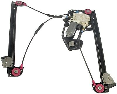 95-00 BMW 750iL 740i 740iL PASSENGER RIGHT FRONT WINDOW REGULATOR MOTOR ASSEMBLY