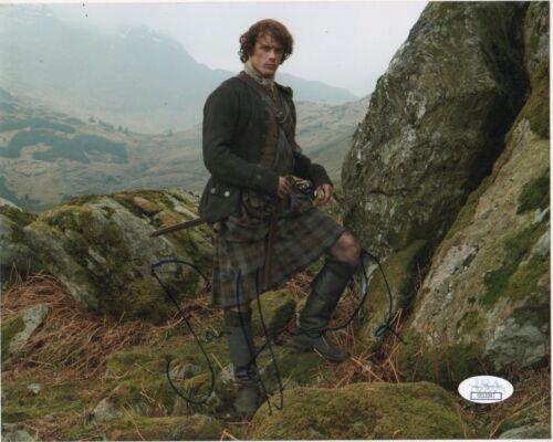 Sam Heughan Outlander Autographed Signed 8x10 Photo JSA COA #C71