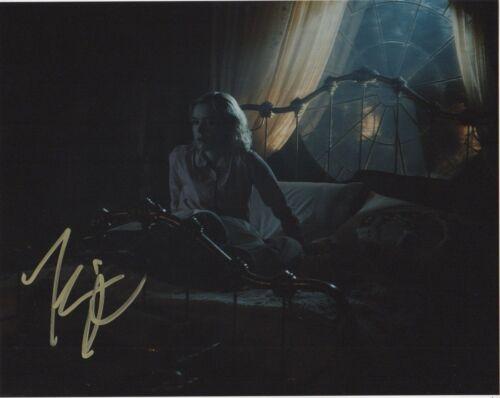 Kiernan Shipka Chilling Adventures Sabrina Autographed Signed 8x10 Photo COA Q3A