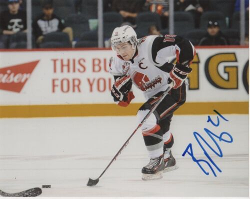 Moose Jaw Warriors Brayden Point Signed Autographed 8x10 Photo COA #7