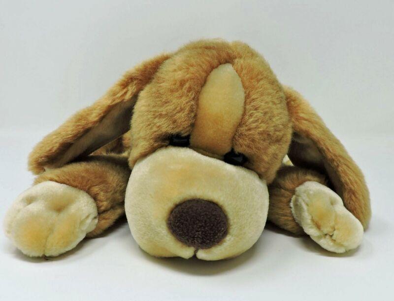 "Animal Alley Dog Darby Brown Tan Plush 14"" Soft Stuffed Toy Floppy Puppy"