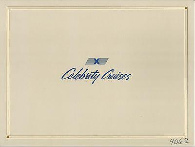 Ss Meridian   Celebrity Cruises  Ship Photo Cover   Cabin No 4062