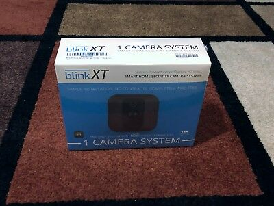 New Blink XT Home Security System 1-Camera Wall Mount HD 2-Yr Battery Free Ship