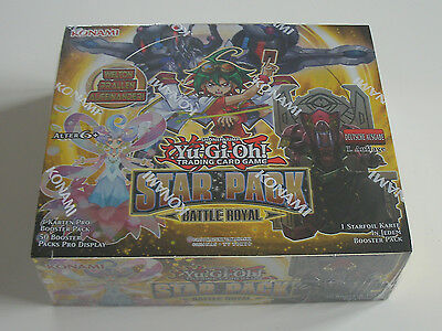 Yu-Gi-Oh - Star Pack Battle Royal - Display - NEU & OVP - Deutsch
