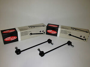 BMW-E46-FRONT-ANTI-ROLL-BAR-DROP-LINK-RODS-x-2-DELPHI-OE-QUALITY