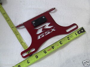 SUZUKI GSXR FENDER ELIMINATOR TAIL TIDY PL RED 600 750 2006 2007 2008 2009 2010