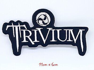 Trivium Heavy Metal Punk Rock Hierro de Coser Parche Bordado Appliqué #1009