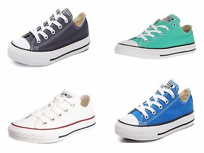 Converse KIDS Boys Girls Shoes Chuck Taylor All Star Ox Low Top Sneakers - Girls Converse Shoes
