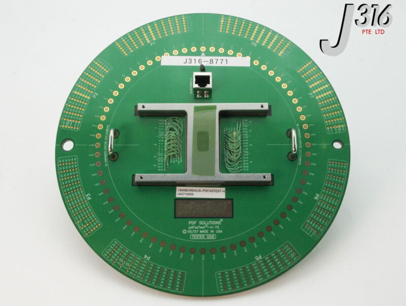 8771 JEM PCB PDFASTEST WAFER TEST PROBER PDFASTEST-ll-72