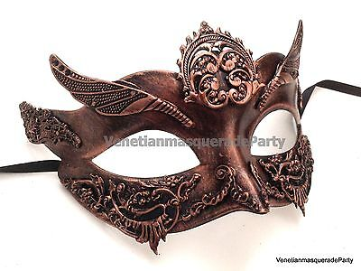 Women Girls Halloween Masquerade Mask Steampunk Renassiance Costume Prom Party - Girls Steampunk Costume