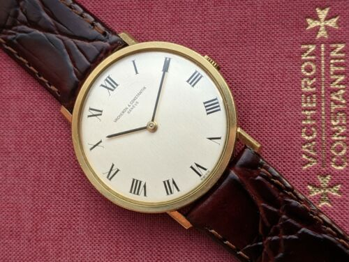 Vacheron Constantin Patrimony 18k Gold w/ Original Papers Ref. 7811 From 1974 - watch picture 1