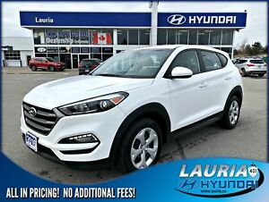 2016 Hyundai Tucson 2.0L FWD Auto - 1-owner - Backup camera