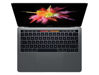 Apple MacBook Pro 13,3 Zoll MPXW2D/A Space Grau 512GB SSD Touch Bar 2017 NEU OVP