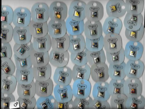 Wholesale Lot of 75 Pugster Italian Link Charms New On Card - Instant Collection