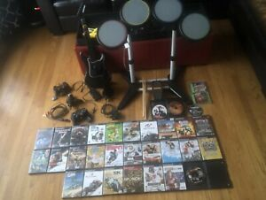 Sony PS2 Rockband and 36 games!!