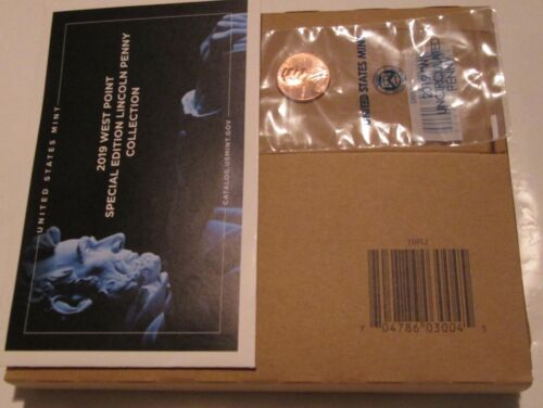 2019 Mint Set Sealed with W penny P and D 20 coins Uncirculated COA Unopen
