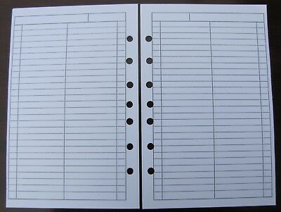 To Do Done Refill For A5 7-ring Planner Organizer Insert