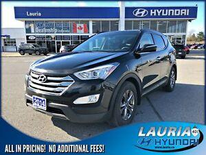 2014 Hyundai Santa Fe Sport 2.4L AWD Luxury - Leather / Panorami