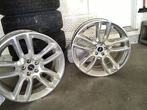 """4 22"""" Ford / Lincoln Sport rims $500"""