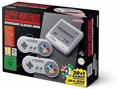 Super Nintendo Entertainment System SNES Classic 2017 Mini Super NES solace NEW