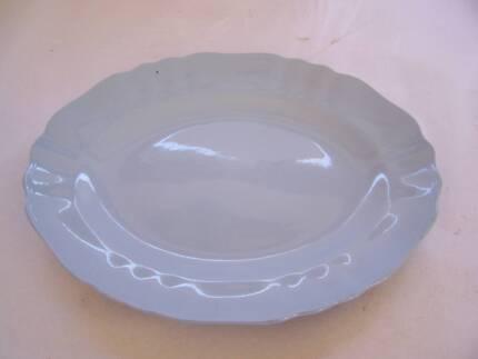 J & G Meakin Large Blue Glamour Platter  CAN POST Wynyard Waratah Area Preview