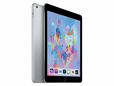 Apple iPad mit WiFi, 128 GB, 2018, space grau