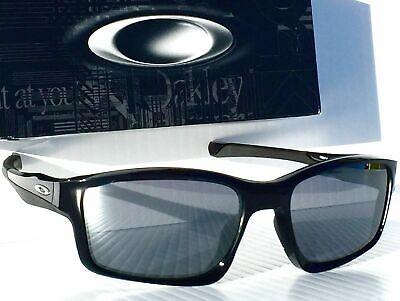NEW* OAKLEY CHAINLINK Black frame w BLACK Iridium Lens Sunglass oo9247-01